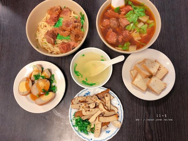 原鄉牛肉拉麵/用餐時間總是客滿/ 超好喝的紅燒湯頭~