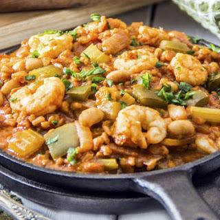 Healthy Shrimp Jambalaya