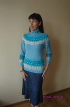 Photo: женский вязаный свитер без швов