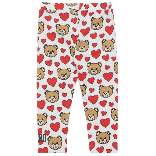 Thumbnail images of Moschino Cotton Teddy Leggings