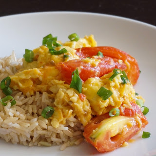5-Minute Stir-fried Tomatoes and Eggs