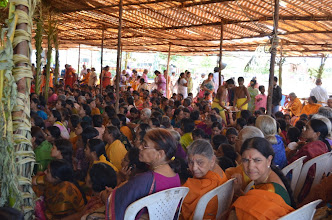 Photo: Snapana Thirumanjanam (Sacred Bath - 3rd Bramhothsavam - Divya Saketham - 2012 Apr 29 to May 5)
