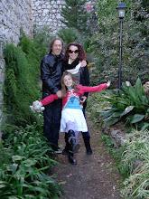 Photo: Rhiannon, Kath & Anto at St George's Taormina