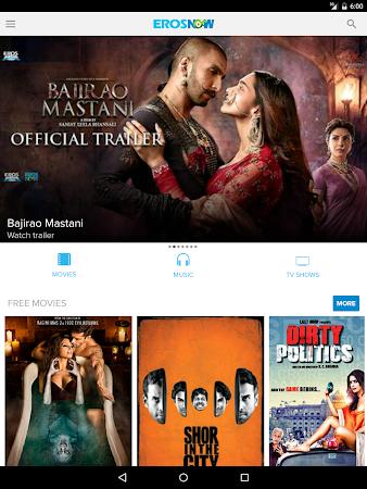 Eros Now: Watch Hindi Movies 3.1.8 screenshot 206313