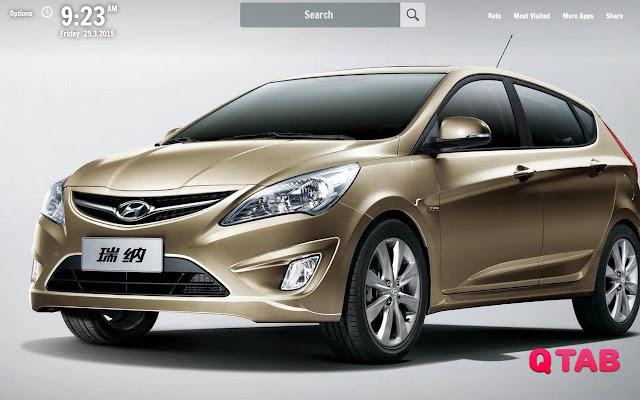 Hyundai Verna New Tab Wallpapers