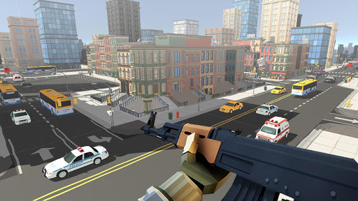 PIXEL SNIPER FORCE GUN ATTACK apkpoly screenshots 8