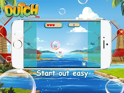 Learn Dutch Bubble Bath Game- screenshot thumbnail