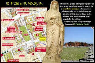 Photo: 12: Eumaquia fue una importante mujer de negocios y sacerdotisa de Venus, heredó de su padre su empresa de vinos y su gran visión empresarial y de su marido una gran empresa lanar. Construyó el <b>Edificio de Eumaquia</b>.