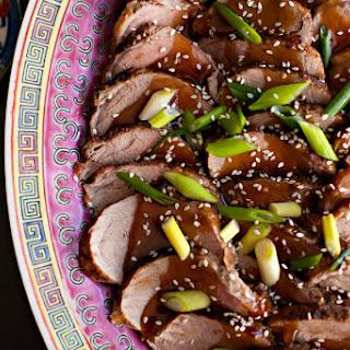 Chinese Pork Loin with Honey Garlic Sauce Recipe