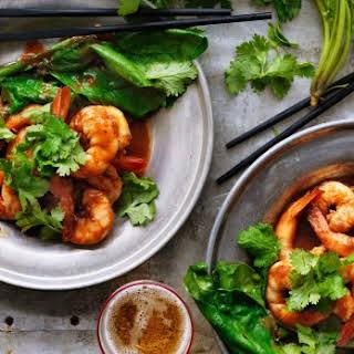 Prawns In Spicy Tamarind Sauce.