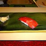 Jiro tuna sushi in Roppongi, Tokyo, Japan