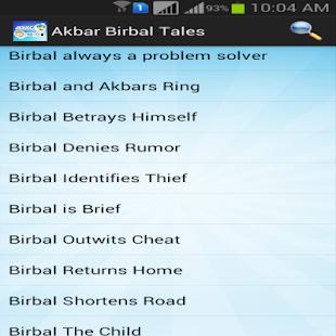Akbar Birbal Tales screenshot
