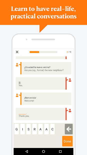 Babbel – Learn Languages Android App Screenshot