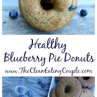 Healthy Blueberry Pie Donuts