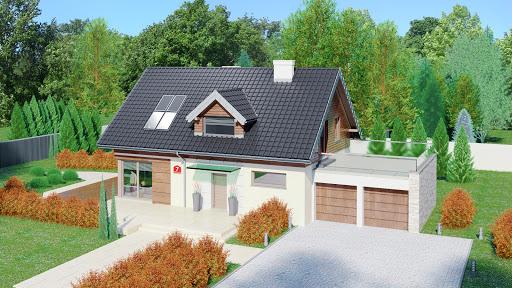 projekt Dom przy Alabastrowej 7