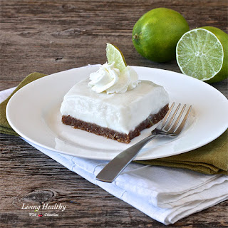 Paleo Key Lime Pie Bars (gluten free, dairy free)