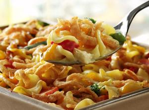Crunchy Chicken And Noodle Casserole Recipe