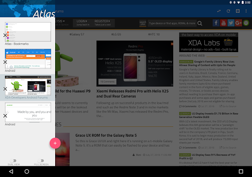 Atlas Web Browser for PC