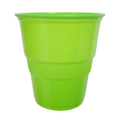 vasos platicos dispal verde 9oz 10und