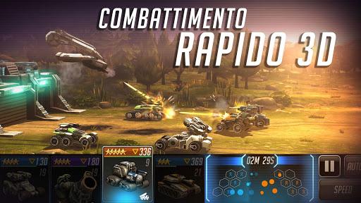 League of War: Mercenaries  άμαξα προς μίσθωση screenshots 1