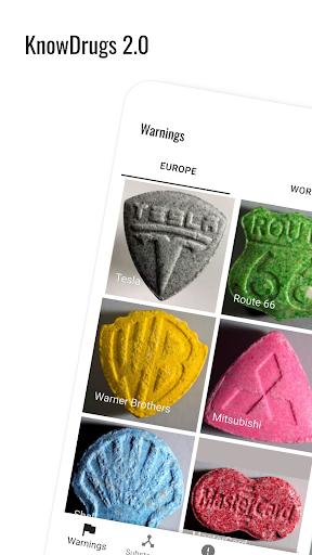 KnowDrugs Drug Checking 2.1.1 screenshots 1
