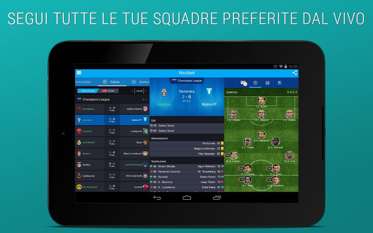 Sport in Diretta - 365Scores- screenshot