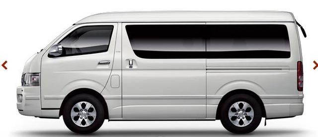 Image result for toyota hiace side