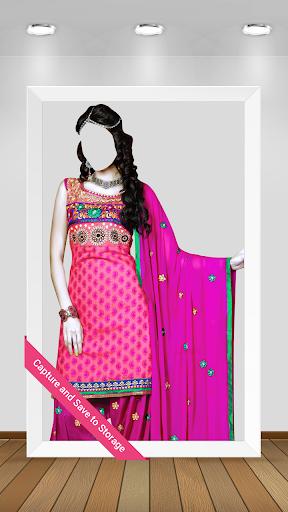 Woman Salwar Suit PhotoCamera