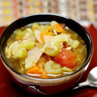 Garbage Rice Soup for The Soul.