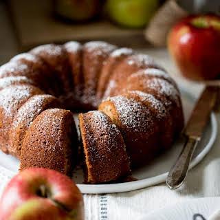 Gluten-free Applesauce Snack Cake.