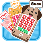 Baby Phone Animals Icon