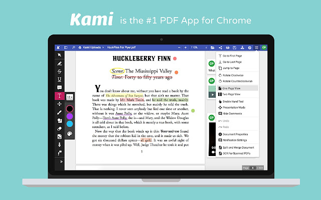 Kami PDF And Document Annotation Chrome Web Store - Google docs fill in the blank