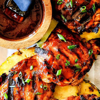 Mesquite Pineapple BBQ Chicken.