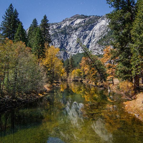 Photo: Fall in Yosemite Valley, November 2012.