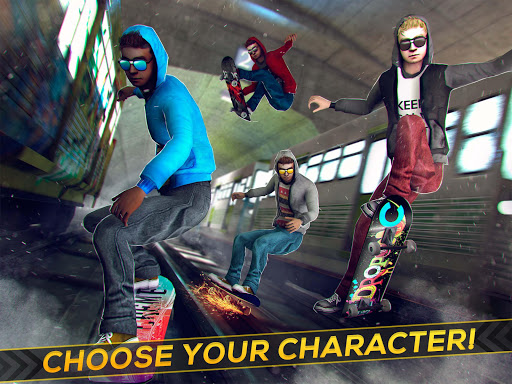 Subway Skateboard Ride Tricks - Extreme Skating 1.6.3 screenshots 6