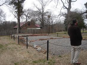 Photo: The Triplex - a group of 3 slave residences near the main house
