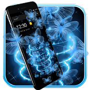 App Neon Butterfly Theme APK for Windows Phone