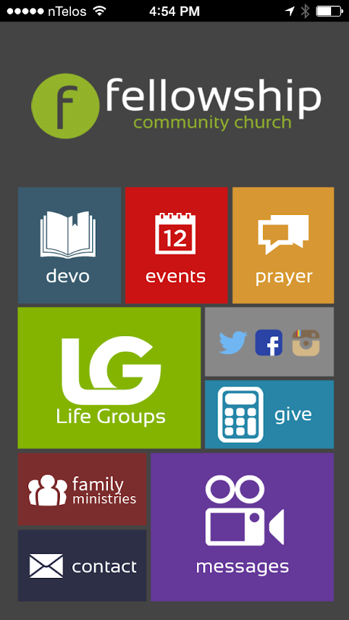 Fellowship Community Church- screenshot