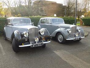 Photo: A fine brace of Bentley Mk VI's