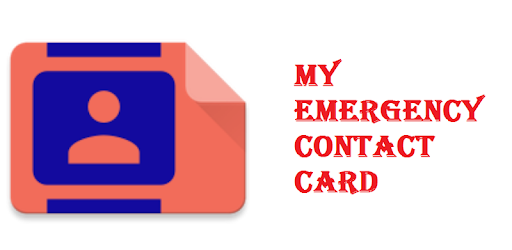 My Emergency Contact Card