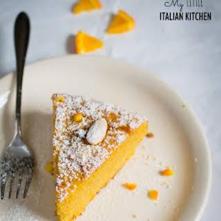 Flourless Almond Orange Cake With 4 Ingredients.