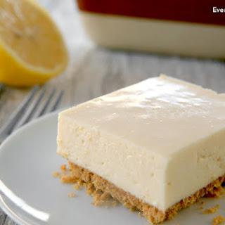 No-Bake Lemon Bars
