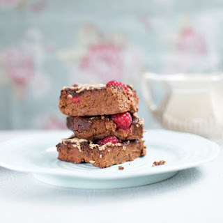 Almond Butter And Jelly Sweet Potato Chocolate Brownies