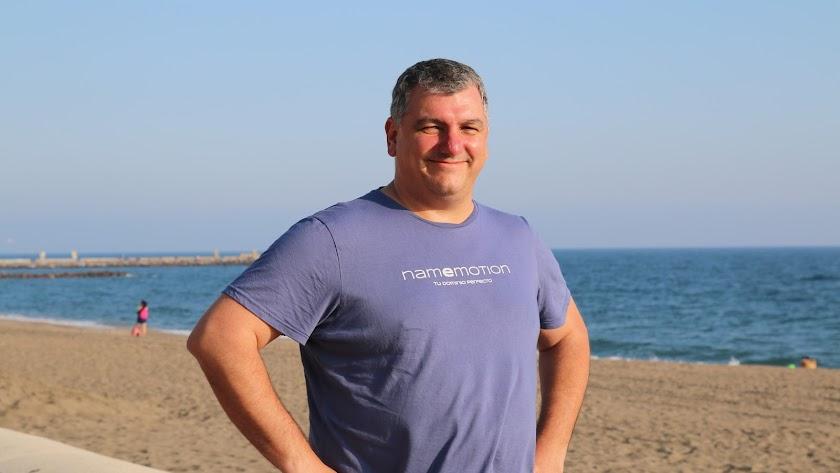 Antonio Villamarín, en Almería