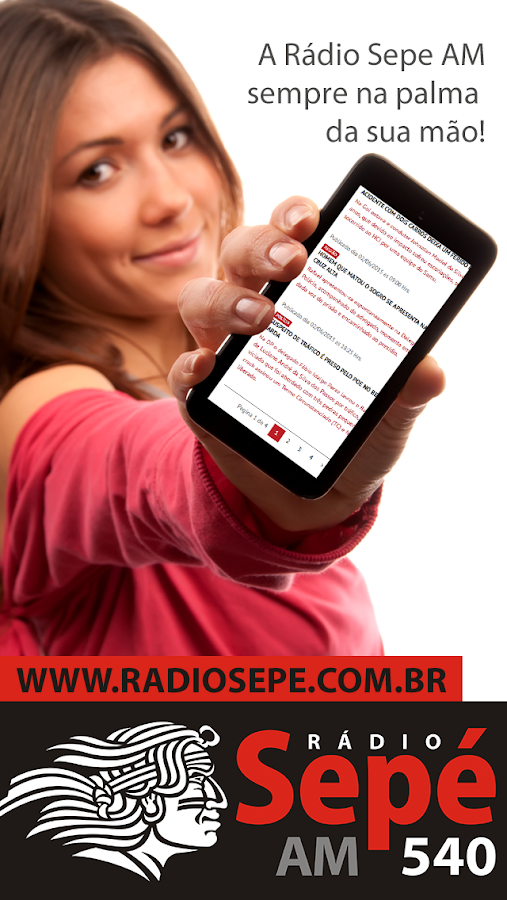 Rádio Sepe AM - Santo Ângelo- screenshot