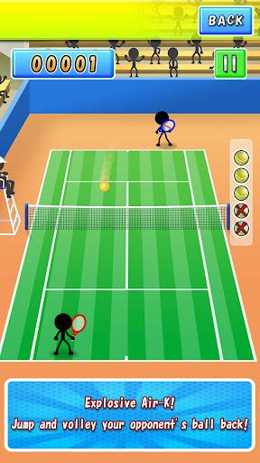 Air-K: Rapid-Fire Tennis