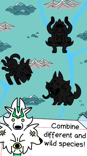 Wolf Evolution - Merge and Create Mutant Wild Dogs 1.0.1 screenshots 3