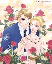 Photo: 「金の薔薇と船上の恋」のタイトルページ用イラストを少しアレンジしたものです