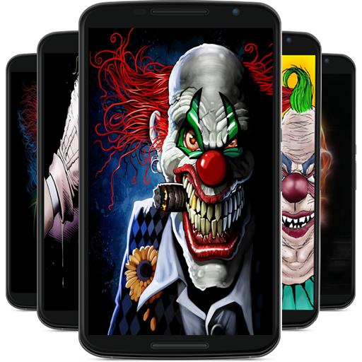 Baixar papel de palhaço assustador para Android