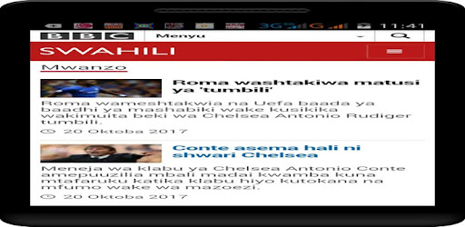 Habari toka magazet yote ya Tz na dunian kote  hata kama huna MB.bbc swahili nk